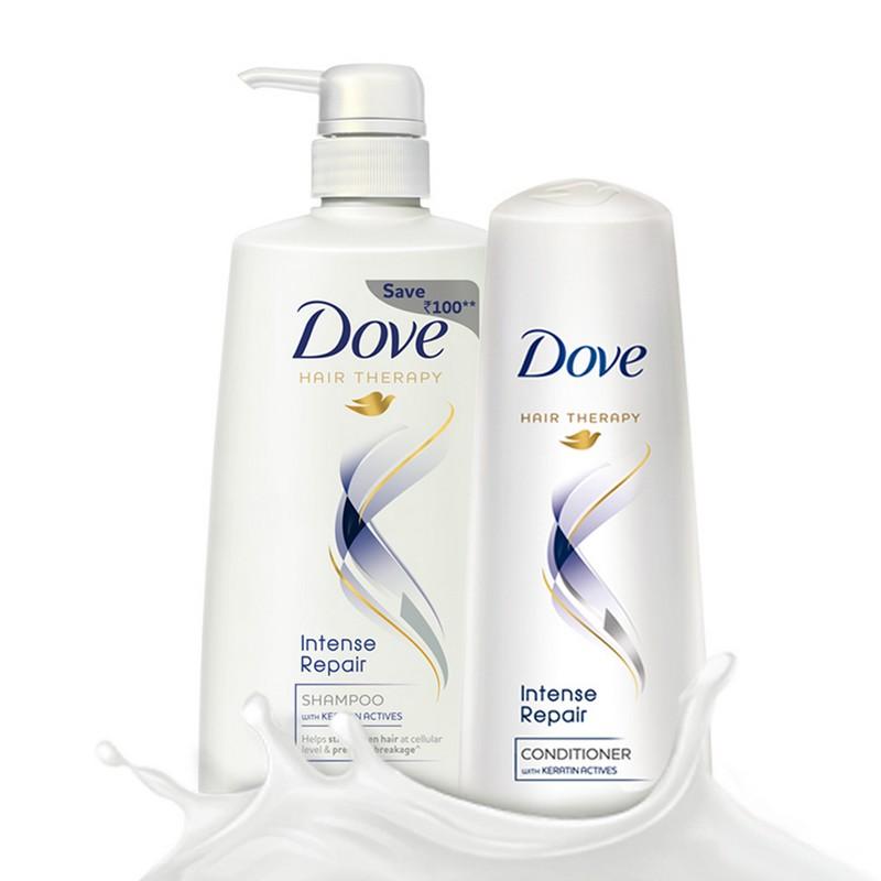 Dove Intense Repair Shampoo 650ml