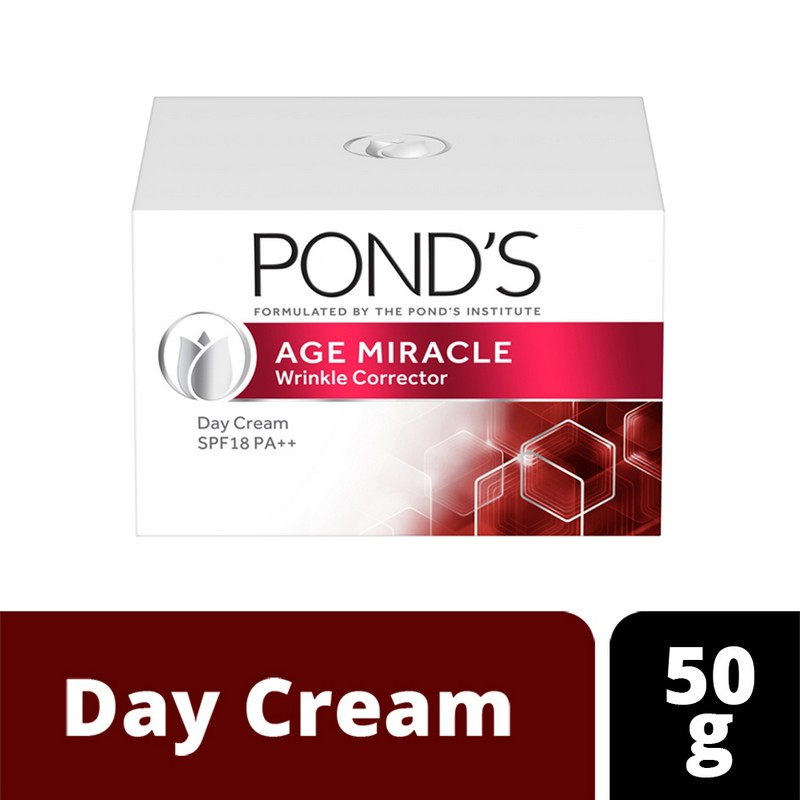 POND'S Age Miracle Wrinkle Corrector Day Cream SPF18 PA++ 50gm