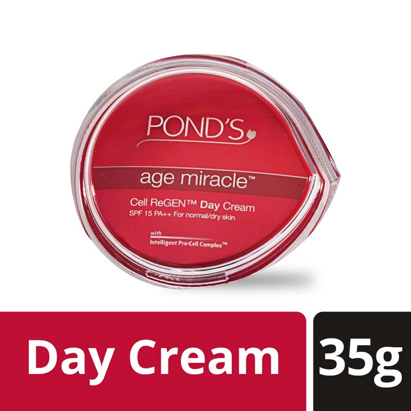 POND'S Age Miracle Wrinkle Corrector Day Cream SPF18 PA++ 35gm