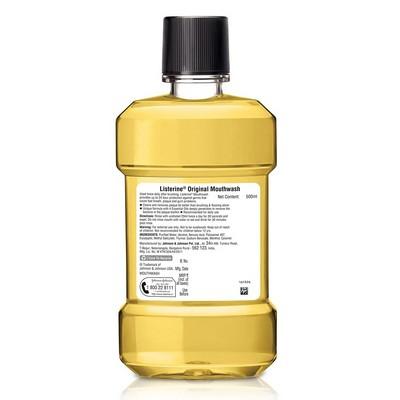 Listerine Original Mouthwash 500ml