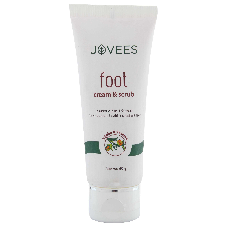Jovees Foot Cream & Scrub 50gm
