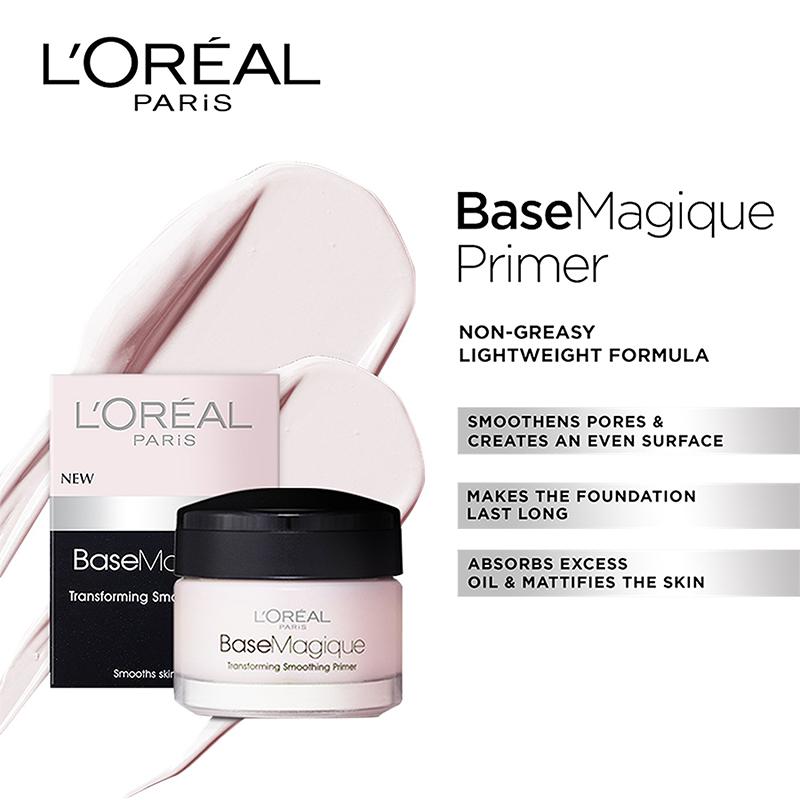 L'Oreal Paris Base Magique Transforming Smoothing Primer 15ml