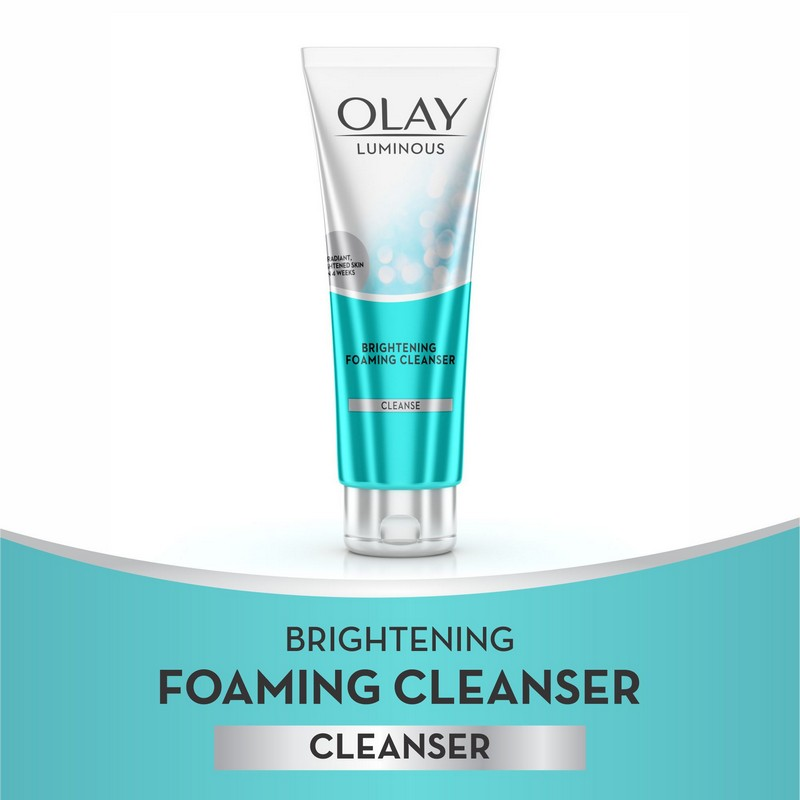 Olay White Radiance Advanced Whitening Brightening Foaming Cleanser 100ml