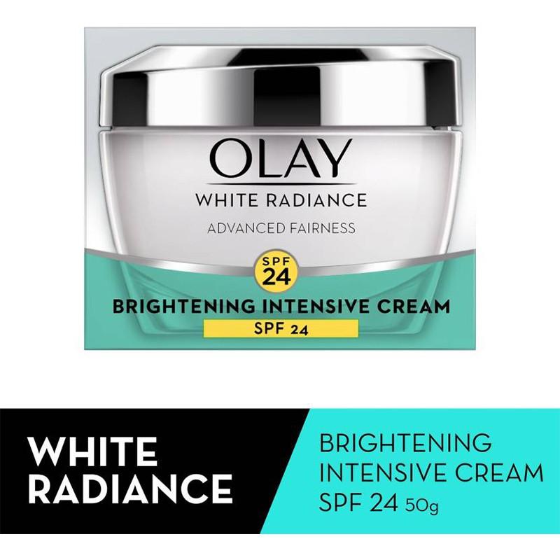 Olay White Radiance Brightening Intensive Day Cream SPF24 50gm