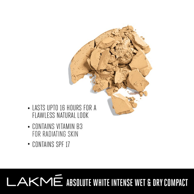 Lakme Absolute White Intense Wet & Dry Compact Ivory Fair 01 9gm