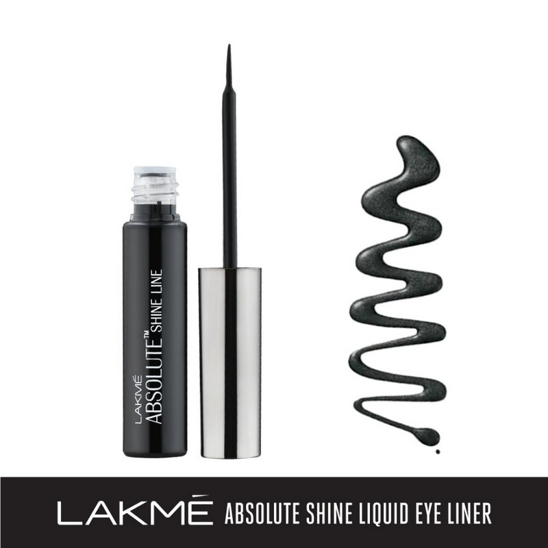 Lakme Absolute Shine Liquid Eyeliner Black