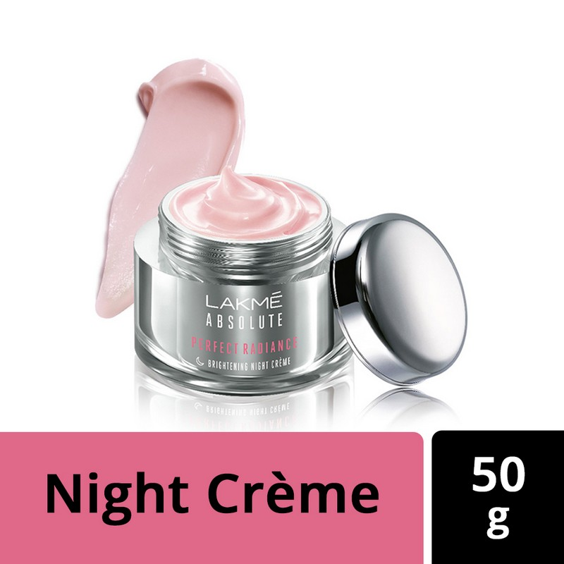 Lakme Absolute Perfect Radiance Skin Lightening Night Creme 50gm