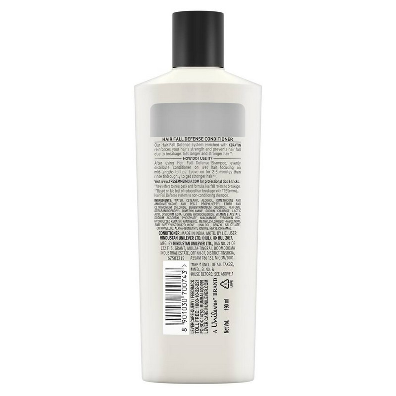 TRESemme Hair Fall Defense Conditioner 190ml