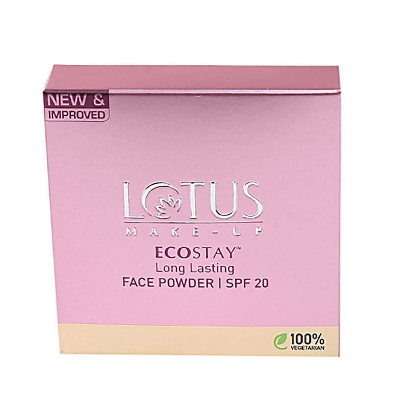 LOTUS ECOSTAY Long Lasting Face Powder SPF20 Royal Pearl 9gm