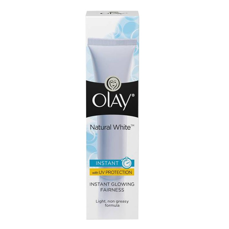 Olay Natural White Light Instant Glowing Fairness Cream 20gm