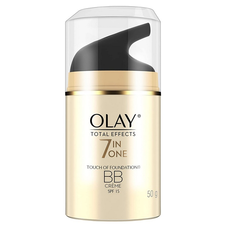 Olay Total Effects 7 In One Anti Ageing BB Cream + Foundation SPF15 50gm