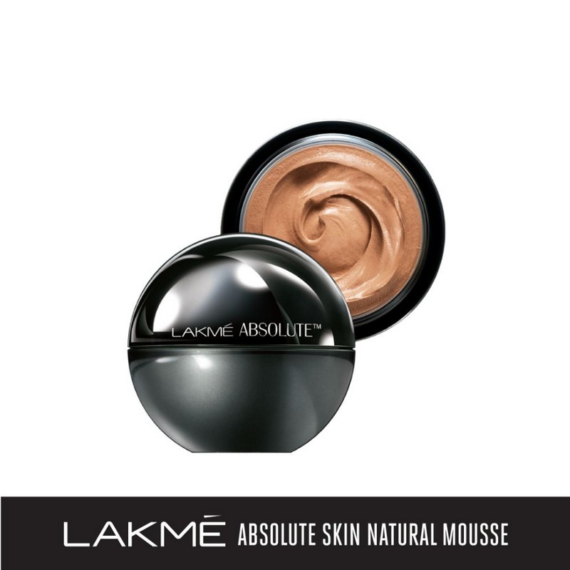 Lakme Absolute Skin Natural Mousse Almond Honey 06 25gm