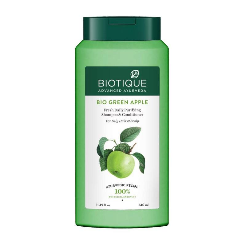Biotique Bio Green Apple Fresh Daily Purifying Shampoo & Conditioner 400ml
