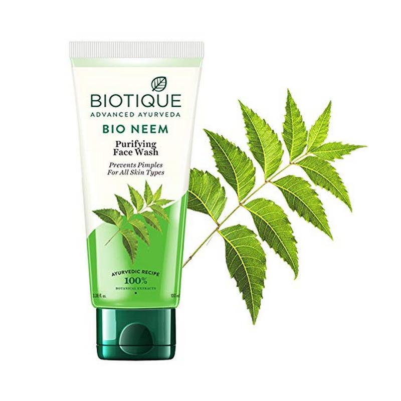 Biotique Bio Neem Purifying Face Wash 100ml