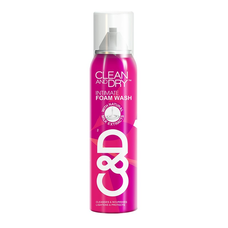 Clean & Dry Intimate Cleansing Foam 85gm