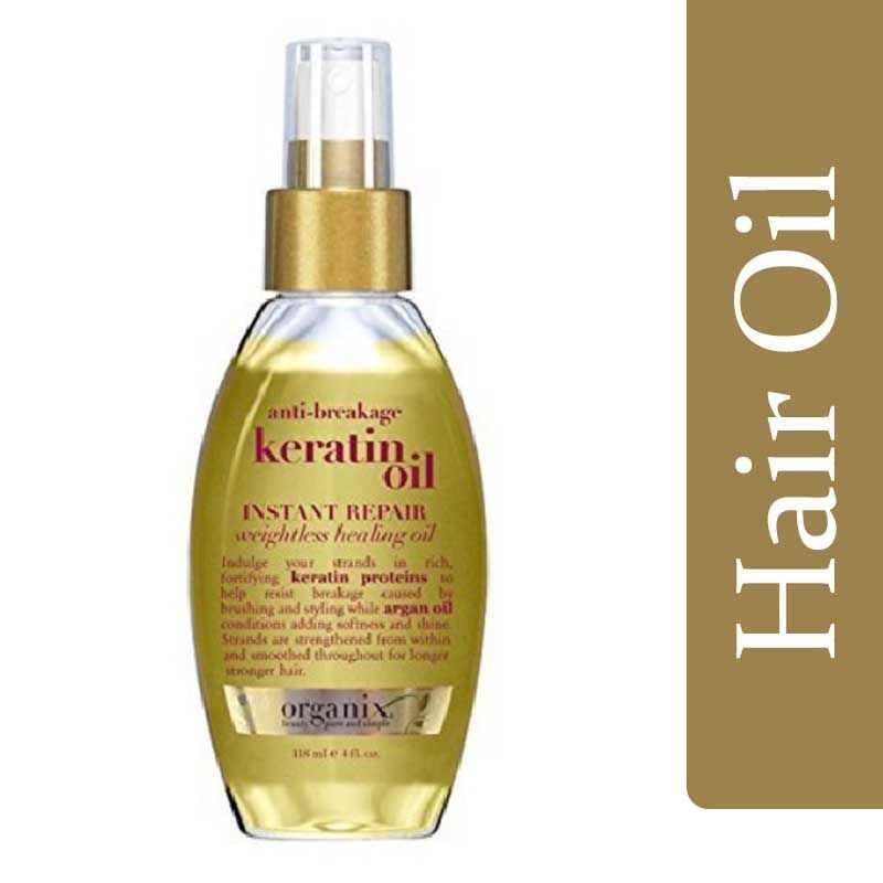 Organix Anti Breakage Keratin Oil For Hair 118ml