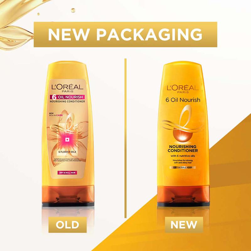 L'Oreal Paris 6 Oil Nourish Hair Conditioner 175ml