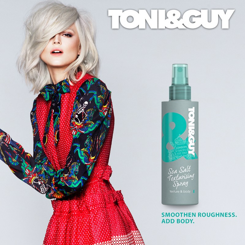 Toni & Guy Limited Edition Sea Salt Texturizing Spray 200ml