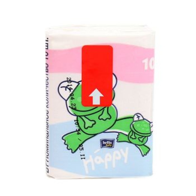 Bella Happy Paper Mini Tissues 10 Pieces