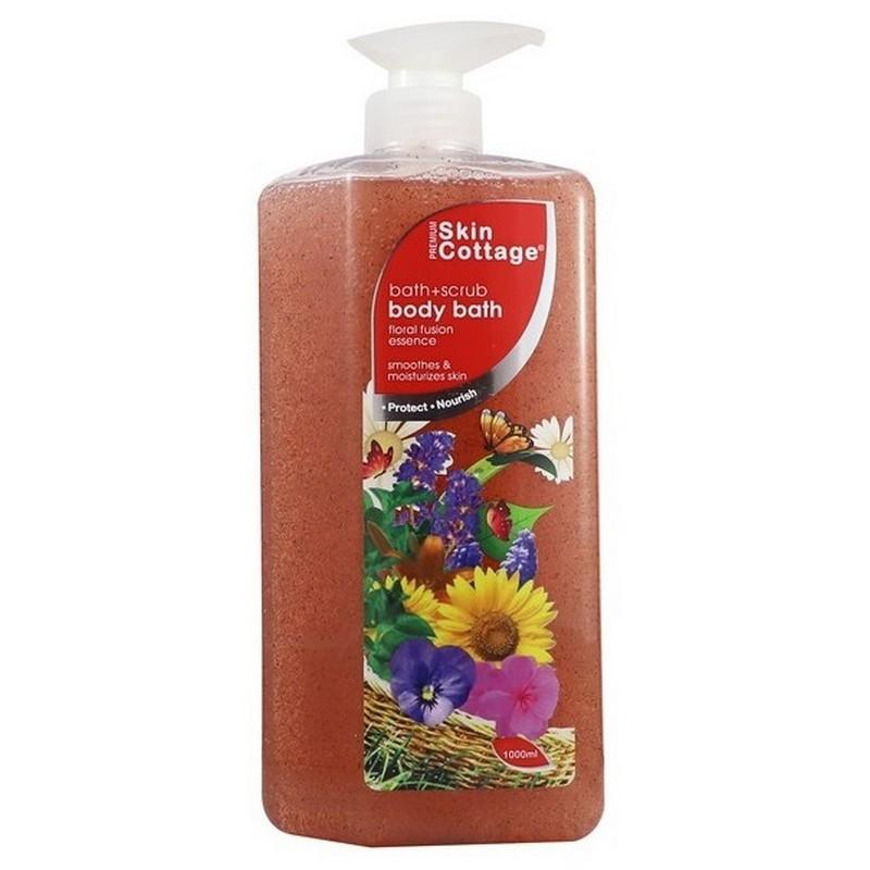 Skin Cottage Body Bath Scrub Floral Fusion Essence 1000ml