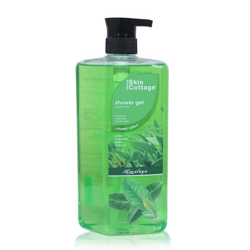 Skin Cottage Shower Gel Green Tea 1000ml