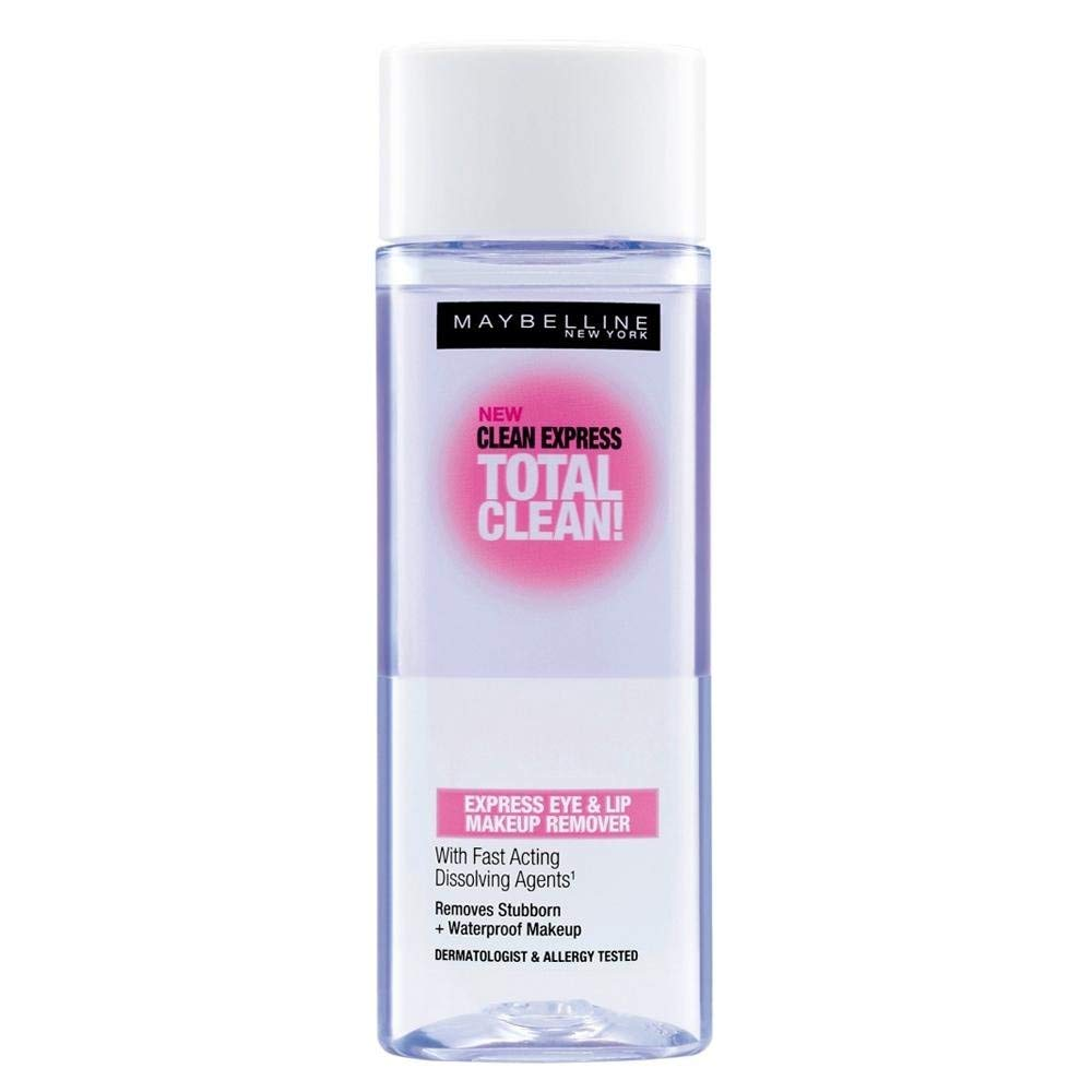 Maybelline New York Total Clean Express Eye & Lip Makeup Remover 70ml
