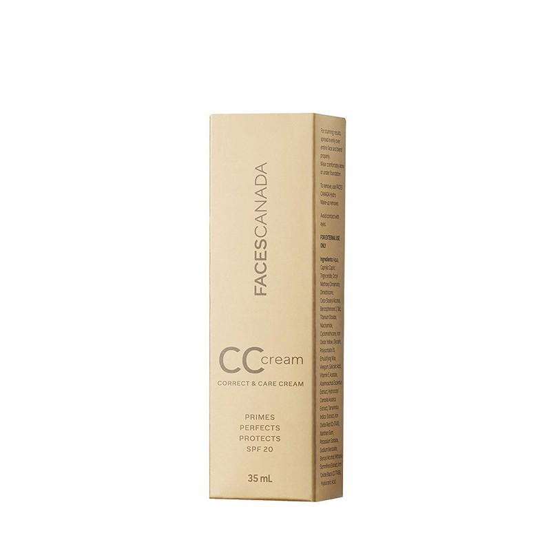 FACES Canada Correct & Care Cream SPF20 Natural 35gm
