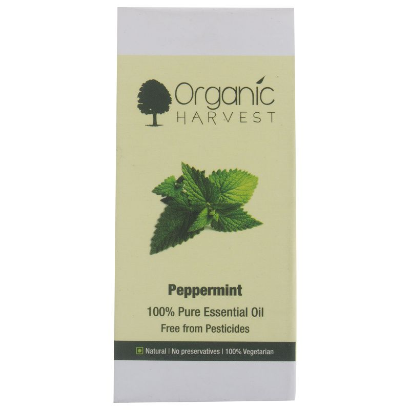 Organic Harvest Peppermint Essential Oil 10ml