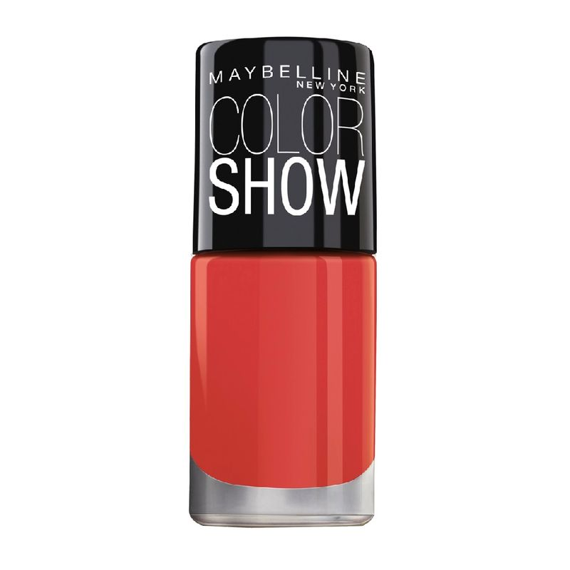 Maybelline New York Color Show Bright Sparks Nail Polish Flash Of Coral 705