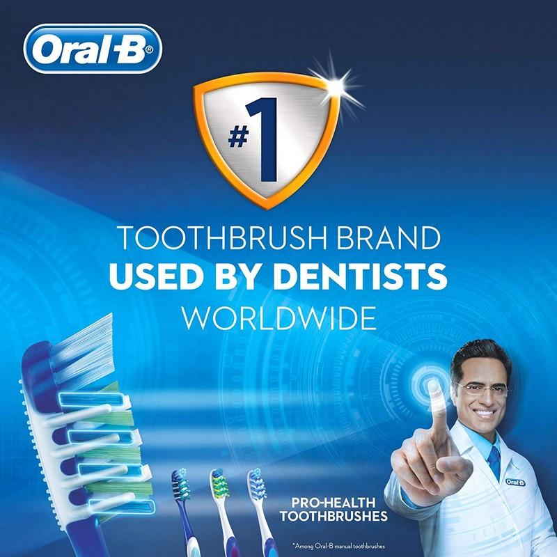 Oral-B Pro Health CrissCross Anti-Plaque Medium Toothbrush Buy 2 Get 2 Free