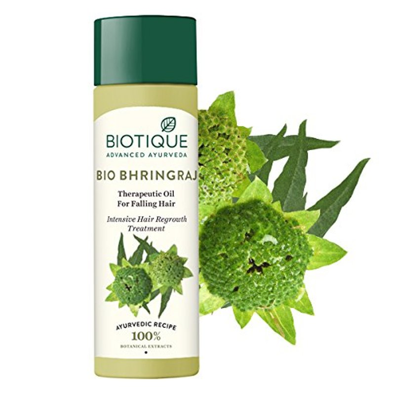 Biotique Bio Bhringaraj Therapeutic Oil Intensive Hair Regrowth Treatment 200ml