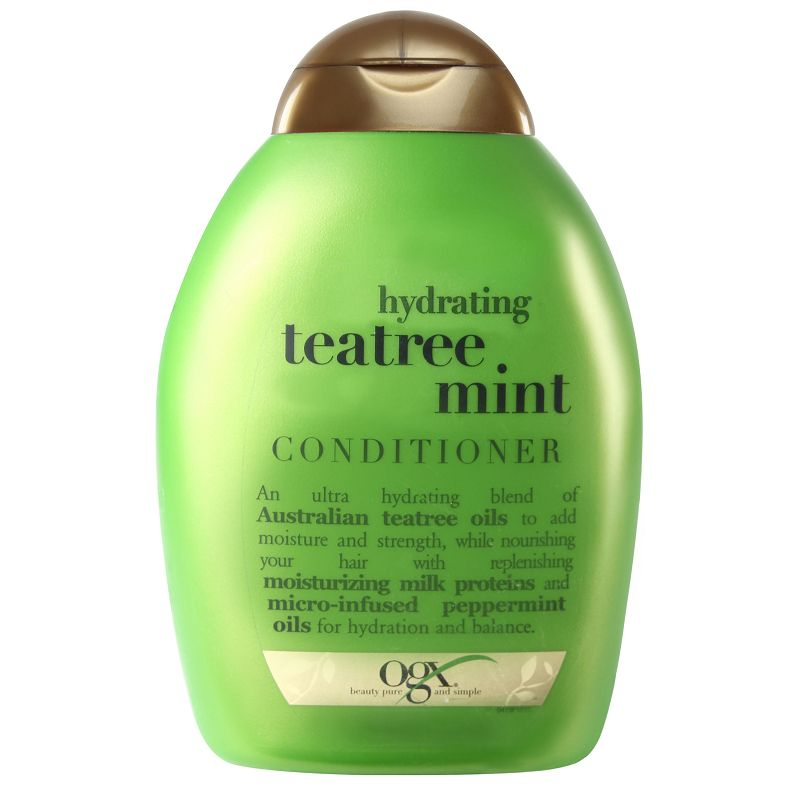 Organix Tea Tree Mint Hair Conditioner 385ml
