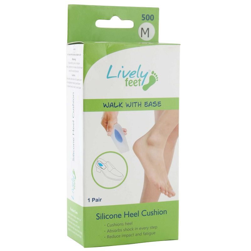 Lively Feet Silicone Heel Cushion Large Size
