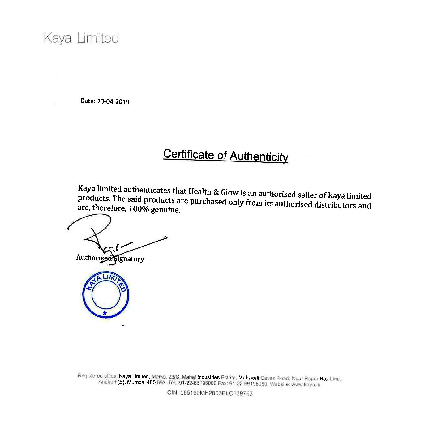 Kaya White Resilience Creamy Exfoliating Rinse 100ml