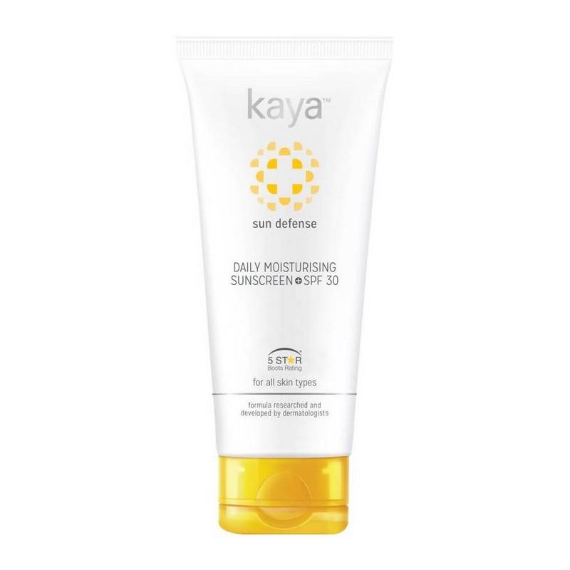 Kaya Sun Defence Daily Moisturising Sunscreen SPF30 75ml