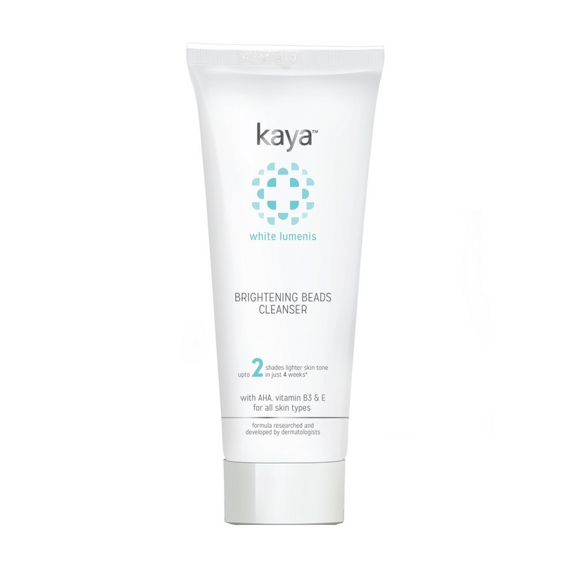 Kaya White Lumenis Brightening Beads Cleanser 100ml