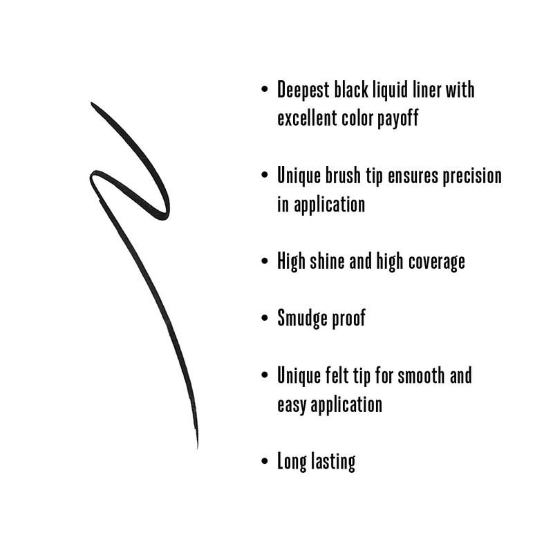 Lakme Absolute Gloss Artist Eyeliner Black 2.5ml