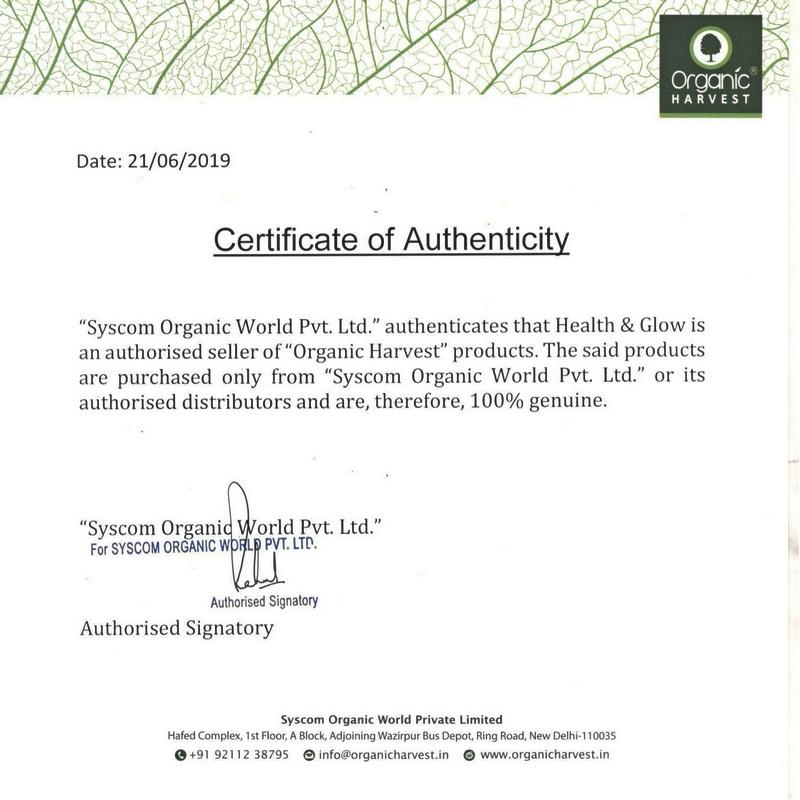 Organic Harvest Hair SPA For Dandruff Free Hair 200gm