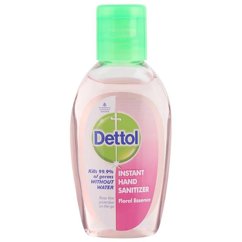 Dettol Floral Essence Hand Sanitizer 50ml