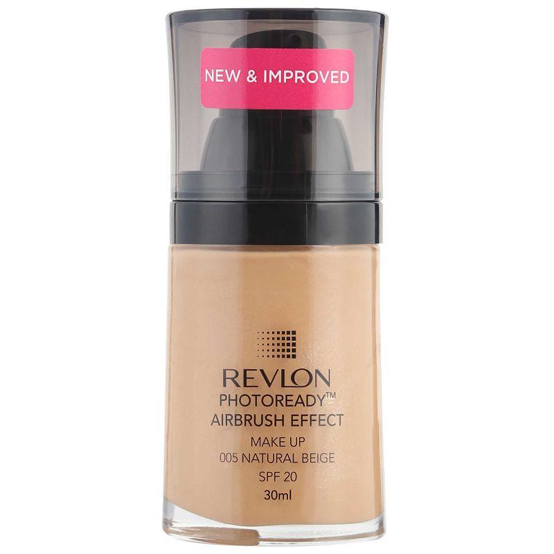 Buy Revlon Photoready Air Brush Effect Foundation SPF20 Natural Beige 005   Health & Glow