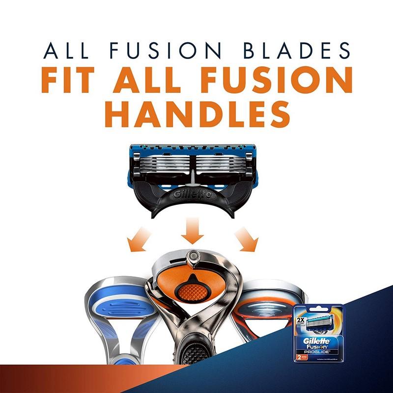 Gillette Flexball Fusion Proglide Blades Cartridges