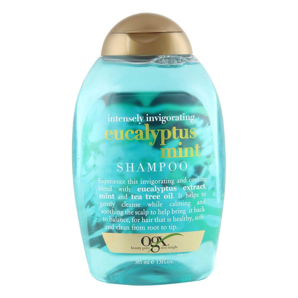 Organix Intensely Inviograting Eucalyptus Mint Shampoo 385ml