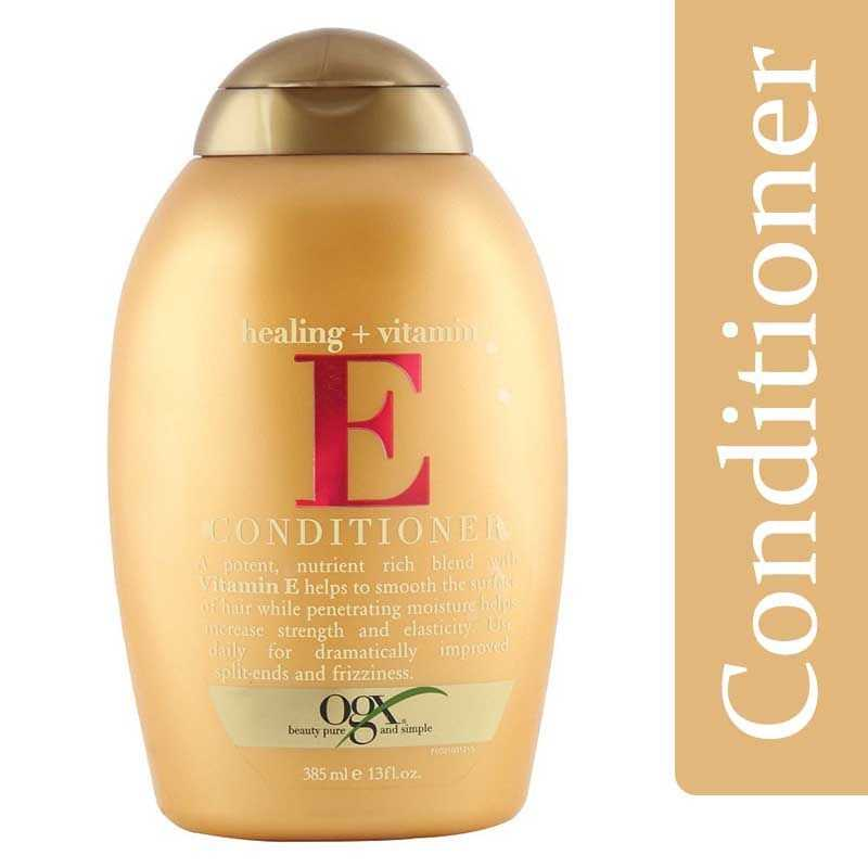 Organix Healing Vitamin E Hair Conditioner 385ml