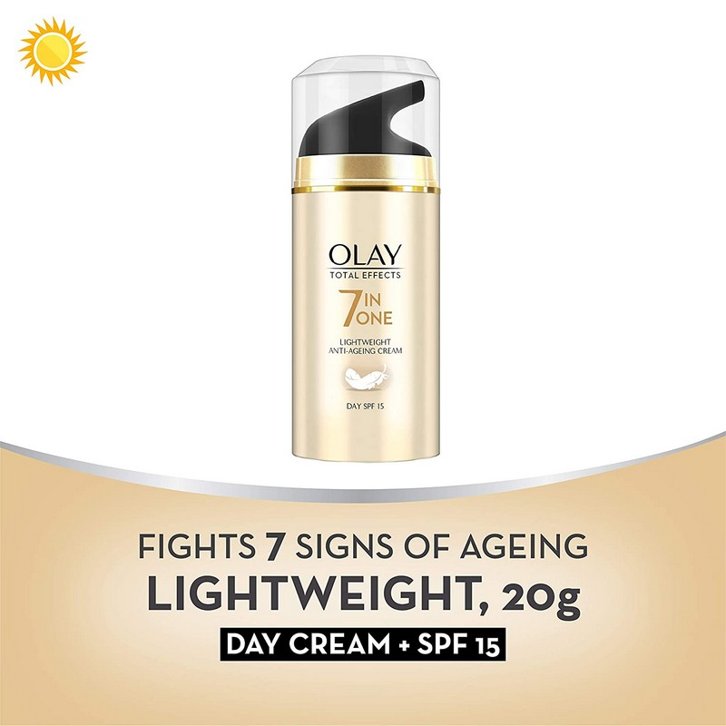 Olay Total Effects 7 In One Lightweight Anti-Ageing Cream With SPF15 20gm