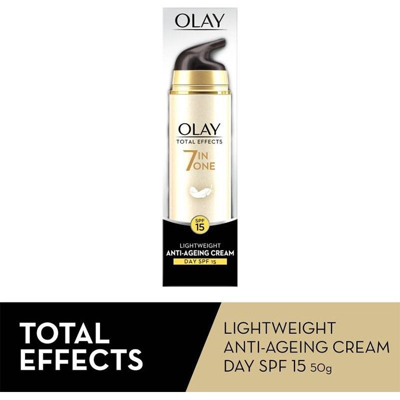 Olay Total Effects 7 In One Lightweight Anti-Ageing Cream With SPF15 50gm