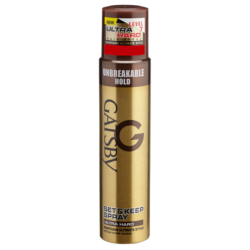 Gatsby Set And Keep Hair Spray Ultra Hard 250ml