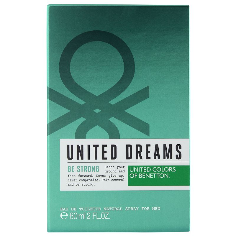 UCB United Dreams-Be Strong Eau De Toilette For Men 60ml