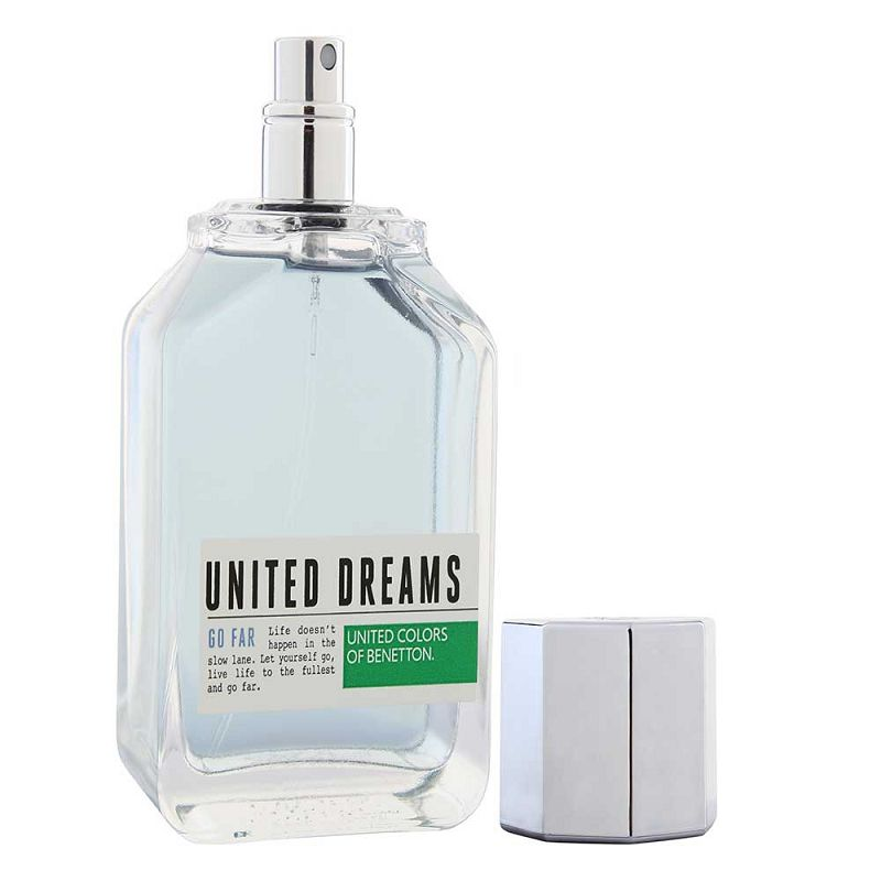 UCB United Dreams-Go Far Eau De Toilette For Men 100ml
