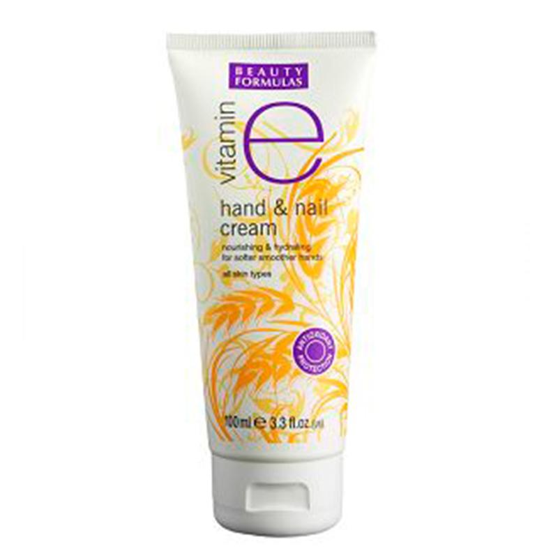 Beauty Formulas Vitamin E Hand & Nail Cream 100ml