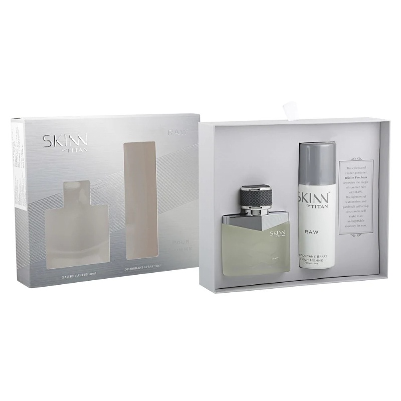 Titan Skinn Eau De Parfum Travel Pack For Men 20ml